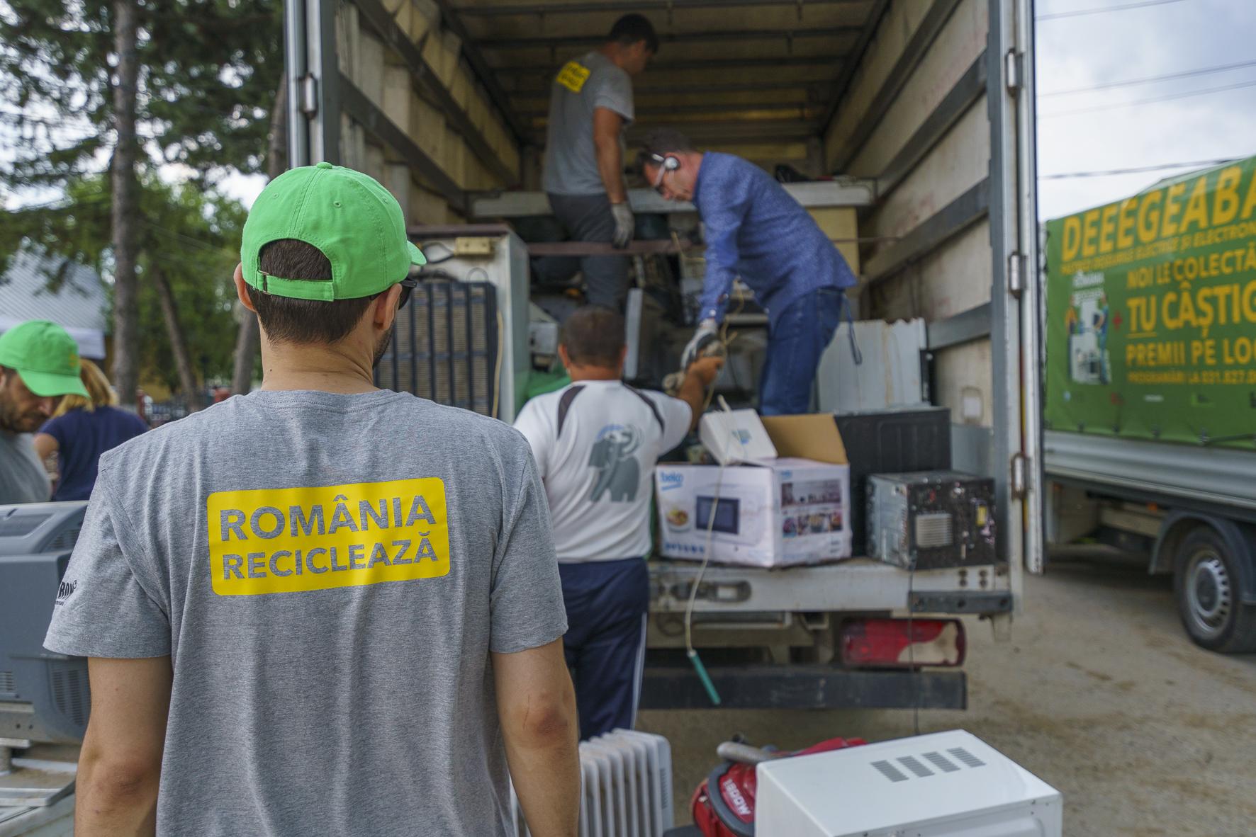 Soluții pentru colectarea deșeurilor electrice – începe o nouă ediție a campaniei România Reciclează