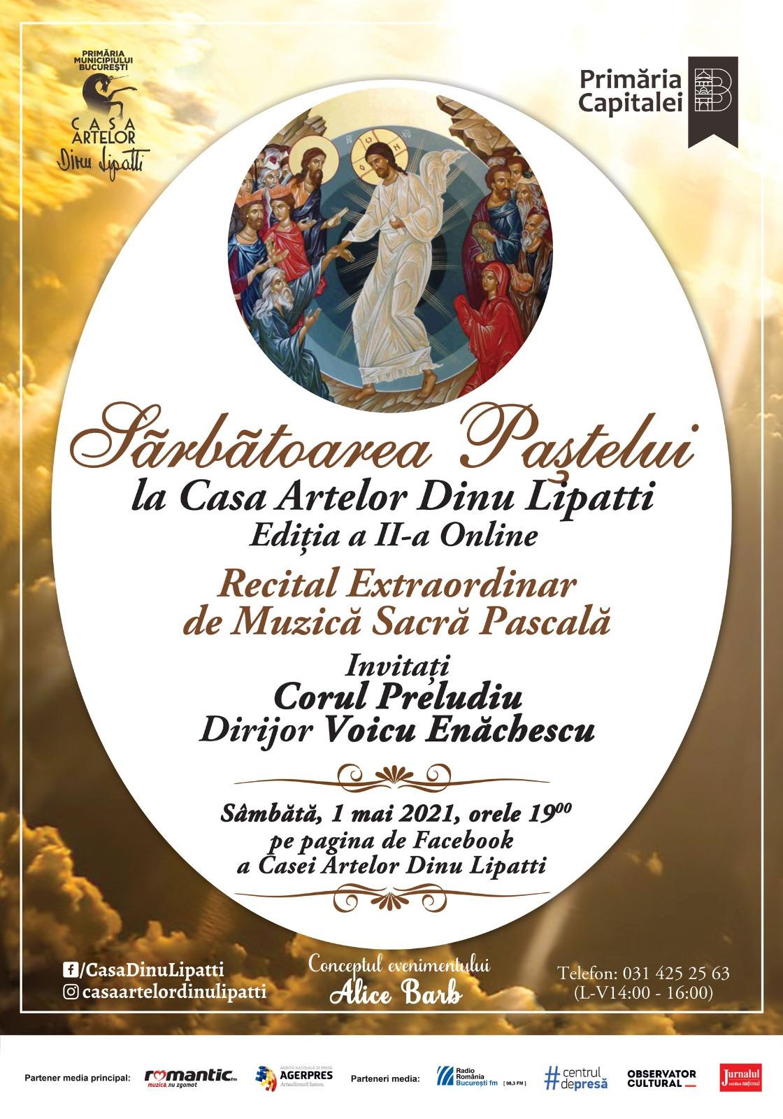 Sărbătoarea Paștelui la Casa Artelor Dinu Lipatti Ediția a II-a Online