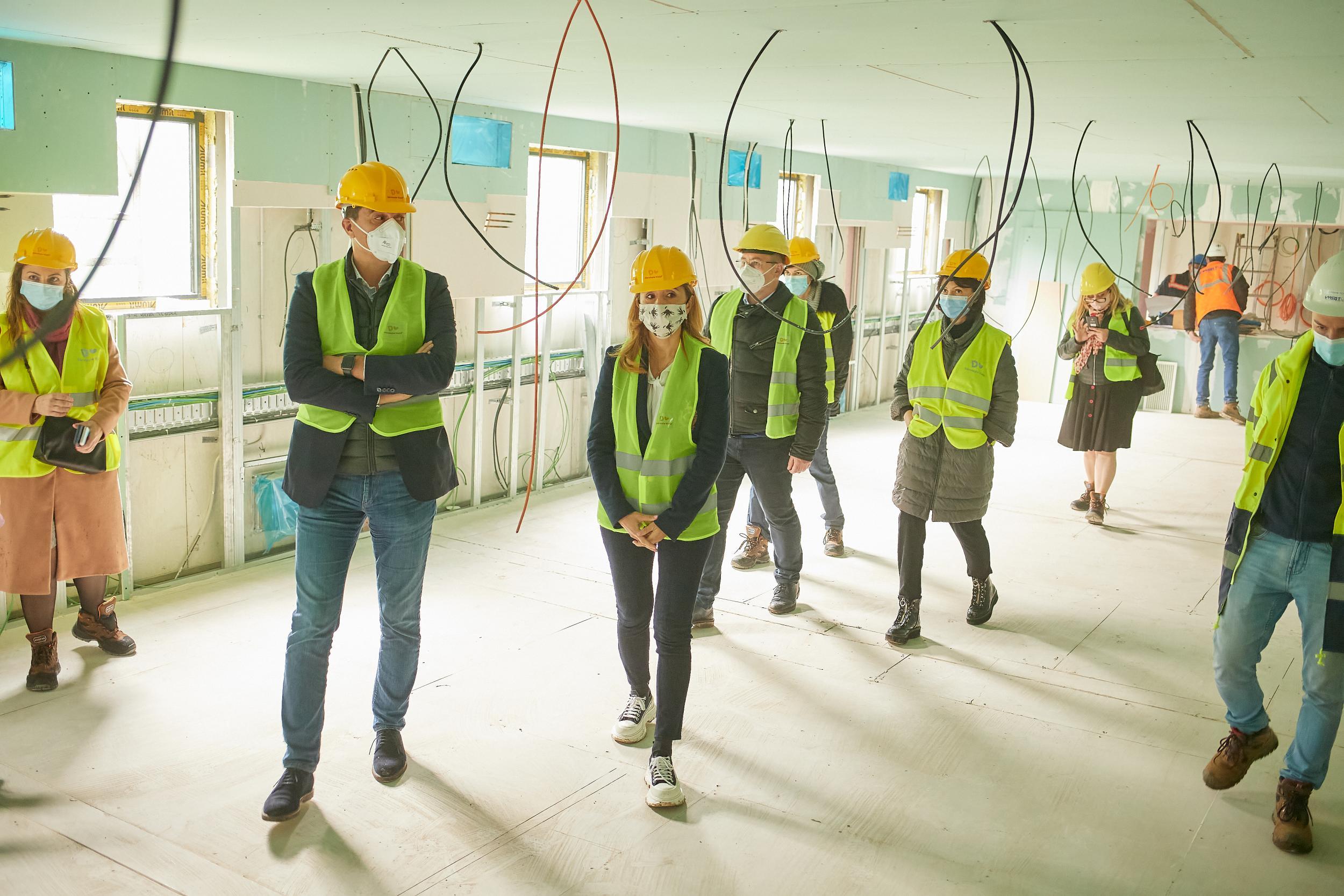 100.0000 de euro pentru spitalul Modular ATI de la Piatra Neamț, construit de Dăruiește Viață