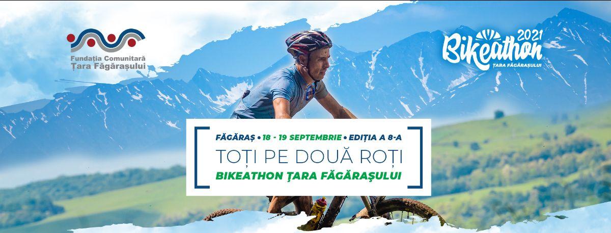 Start înscriere bicicliști și susținători la Bikeathon Țara Făgărașului 2021!