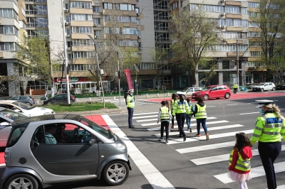 A început semnalizarea celor mai vulnerabile puncte din traficul bucureștean