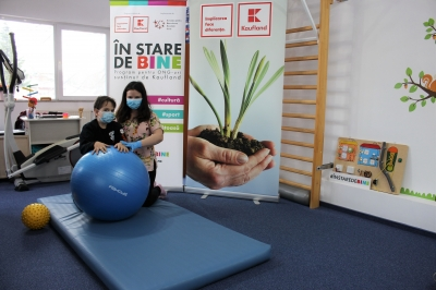90 de copii diagnosticați cu boli grave au beneficiat  de consiliere nutrițională și recuperare medicală în cadrul Centrului Steluțelor