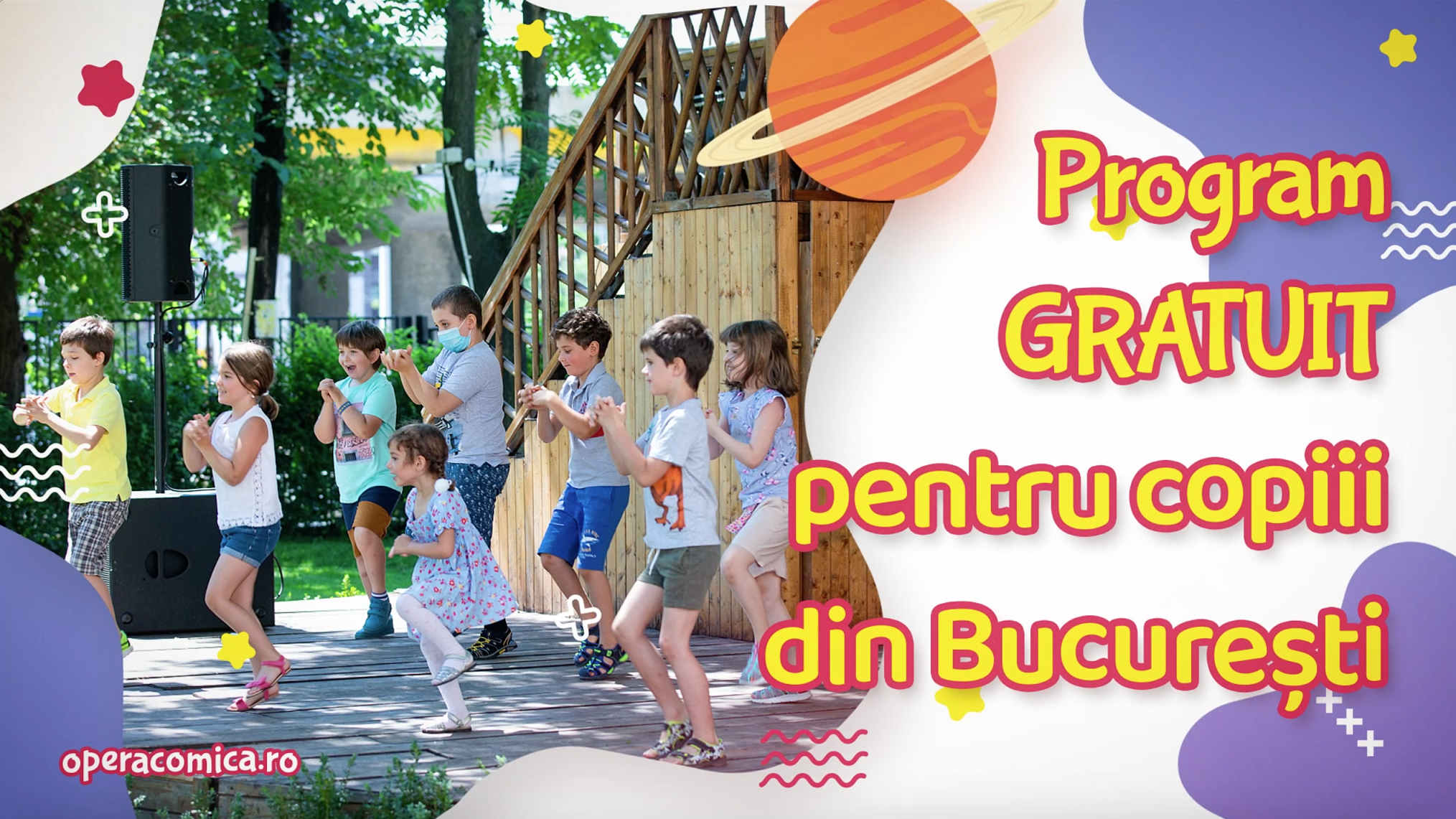 Vacanță Activă în București cu Opera Comică pentru Copii și Cantus Mundi