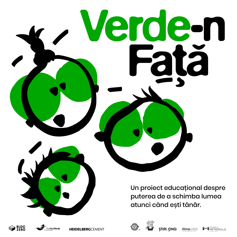"""Începe """"Verde-n față"""", proiectul de educație ecologică prin film documentar"""