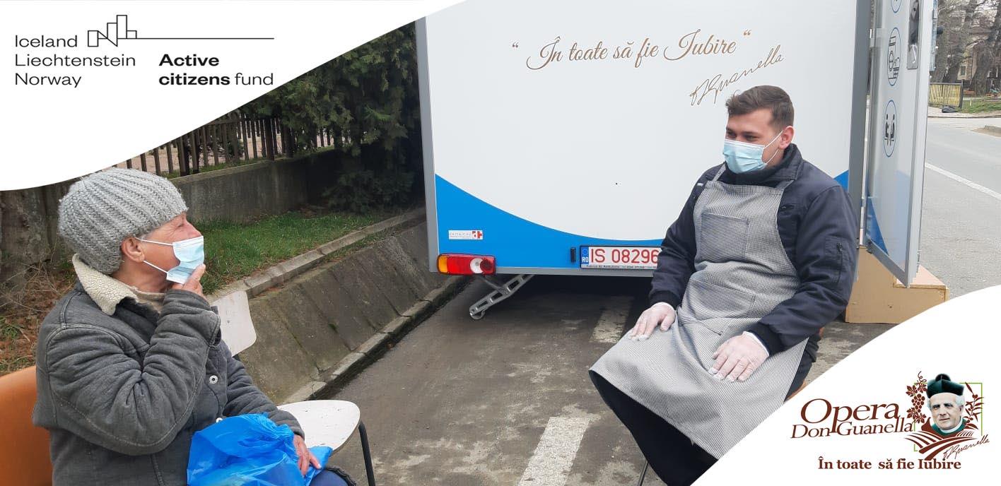Solidaritate față de cei fără adăpost