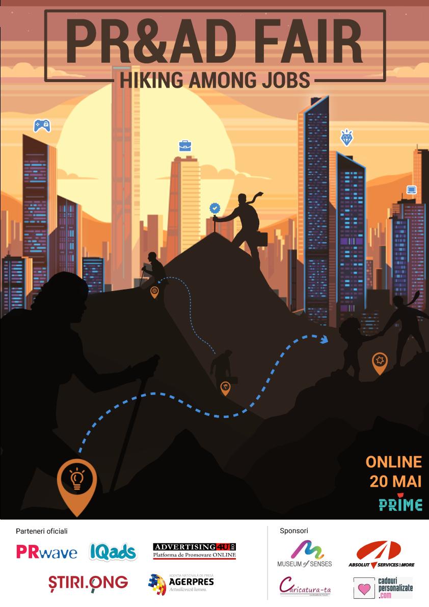 Hiking among jobs with PR&Ad Fair