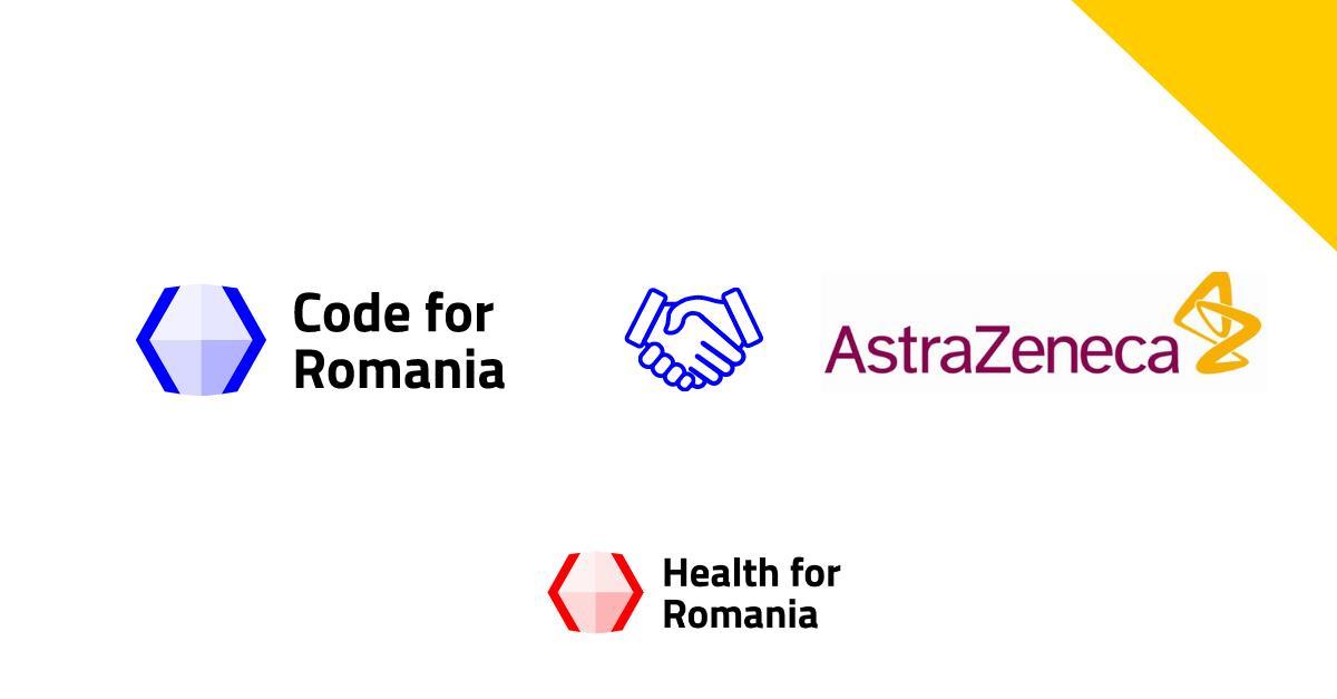 Code for Romania și AstraZeneca - parteneriat pentru servicii de sănătate mai eficiente în România