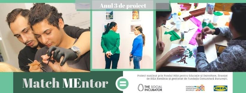 Peste 50 de tineri vulnerabili, ajutați în cea de a II-a ediție a programului educațional Match Mentor