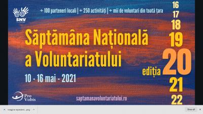 Săptămâna Națională a Voluntariatului împlinește 20 de ani