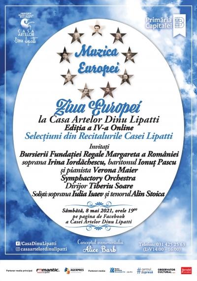 Ziua Europei – Muzica Europei, Ediția a IV-a Online