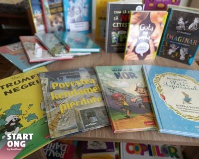 Școala Gimnazială Căianu aduce lectura în viața elevilor cu sprijinul programului Start ONG
