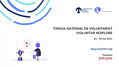 Începe a II-a ediție a târgului național de voluntariat!