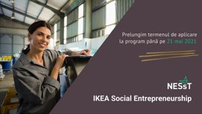 Acceleratorul NESsT & IKEA Social Entrepreneurship în Polonia și România - termen de aplicare prelungit