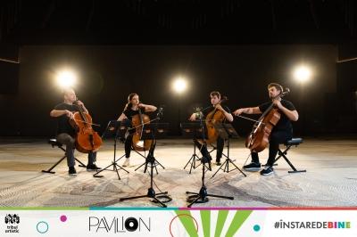"""Pavilion Muzical a ajuns la final, iar lecțiile digitale produse de Tribul Artistic s-au """"plimbat"""" deja prin 7 județe"""