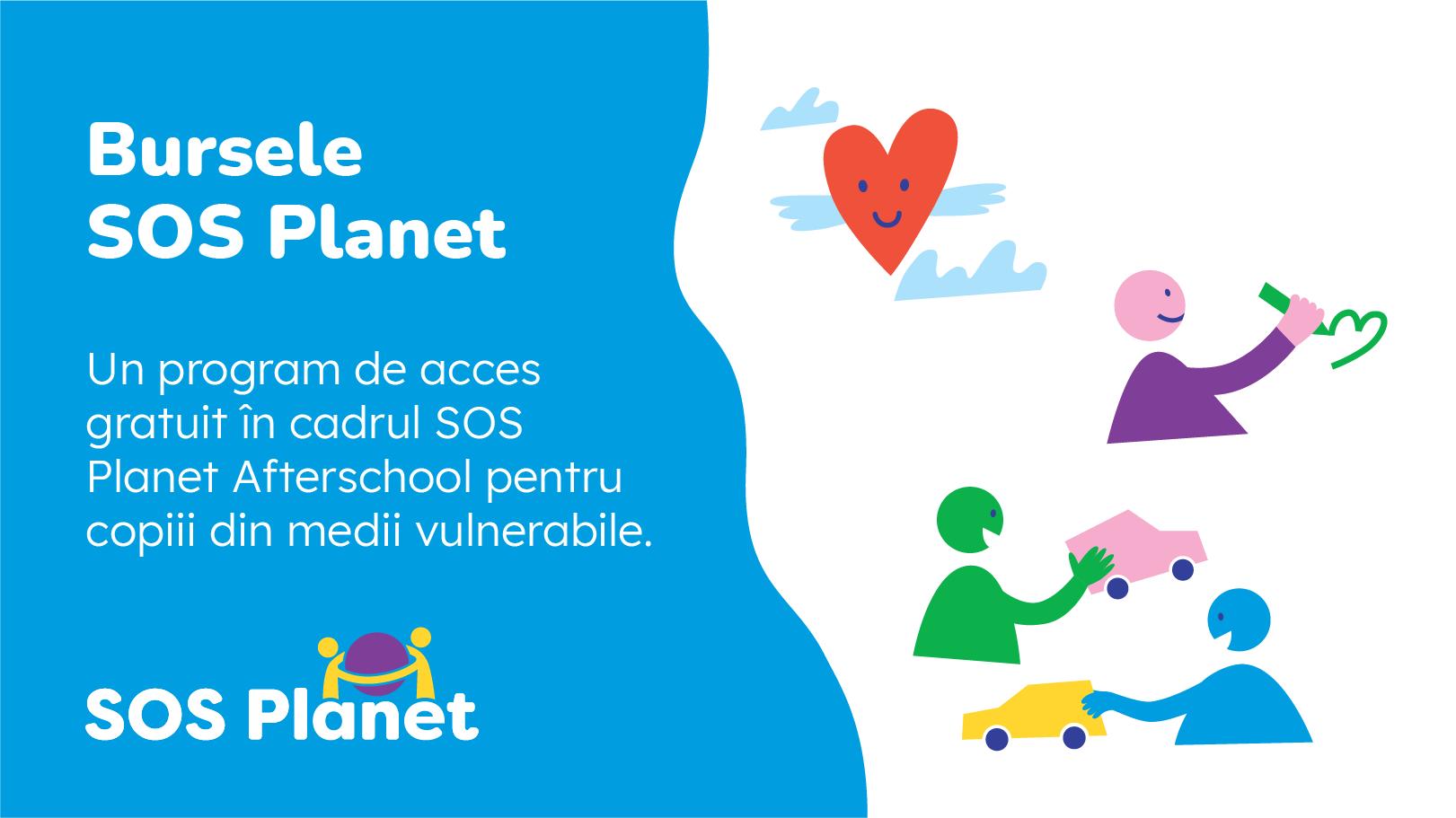 SOS Planet Afterschool deschide înscrierile pentru Bursele SOS Planet