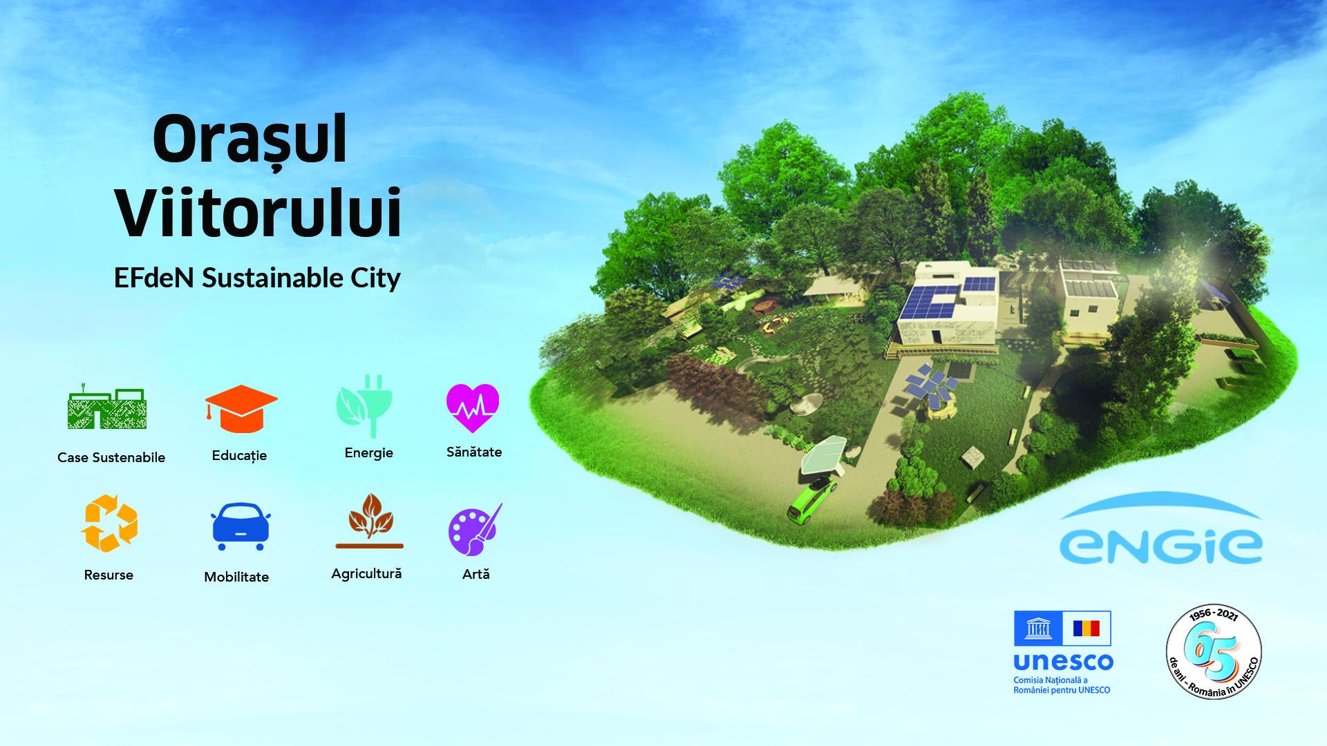 EFdeN a lansat primul prototip de oraș sustenabil al viitorului, EFdeN Sustainable City