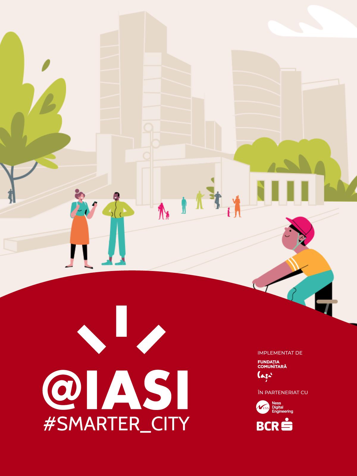 Ness România și Banca Comercială Română, alături de Fundația Comunitară Iași, revitalizează orașul prin bănci #smart