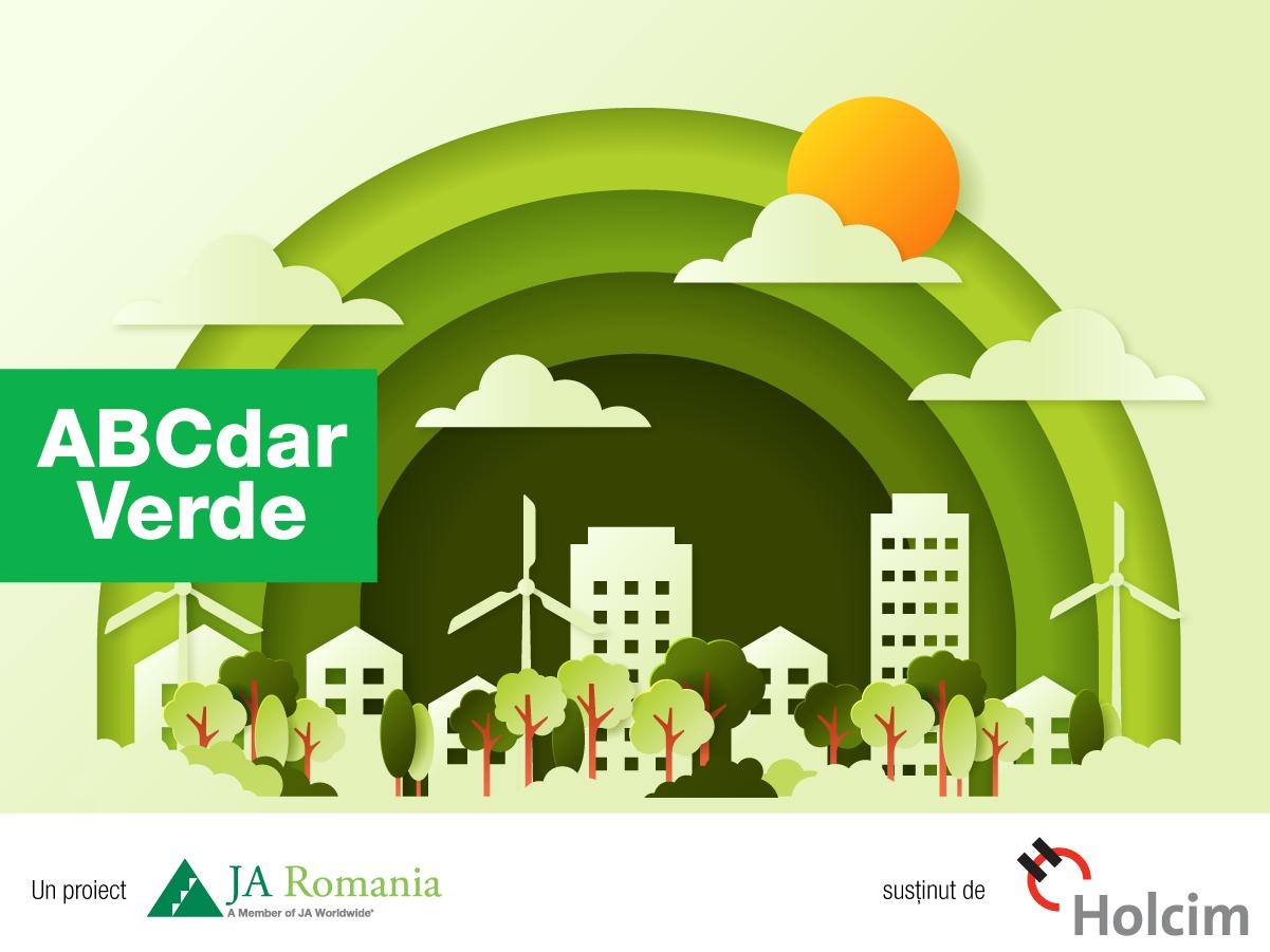 """Holcim și Junior Achievement au finalizat prima ediție a proiectului """"ABCdar Verde"""". Peste 500 de elevi din Argeș, Bihor și Cluj au învățat cum pot proteja mediul înconjurător"""