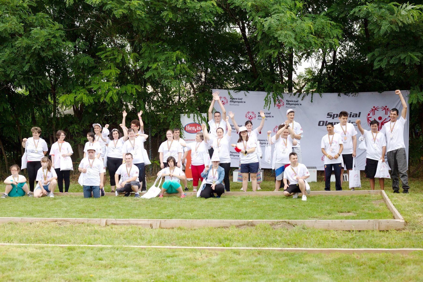 Competiție de Bocce – primul eveniment Special Olympics România desfășurat față în față de la începutul pandemiei, cu sprijinul partenerului tehnic - Hervis Sports & Fashion