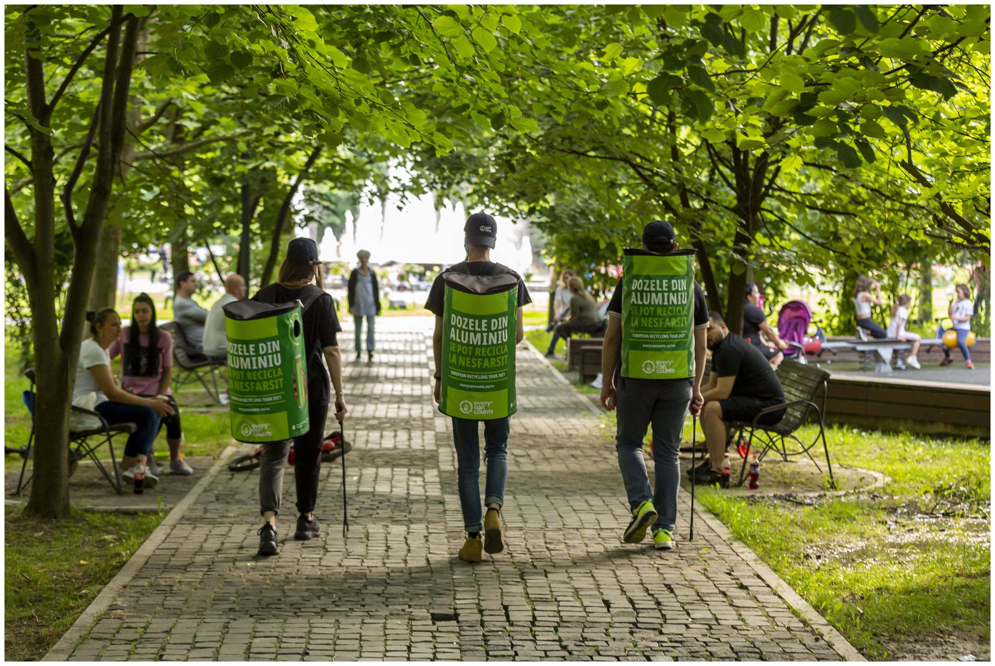 Every Can Counts: peste 4 milioane de europeni inspiraţi de European Recycling Tour să recicleze dozele din aluminiu