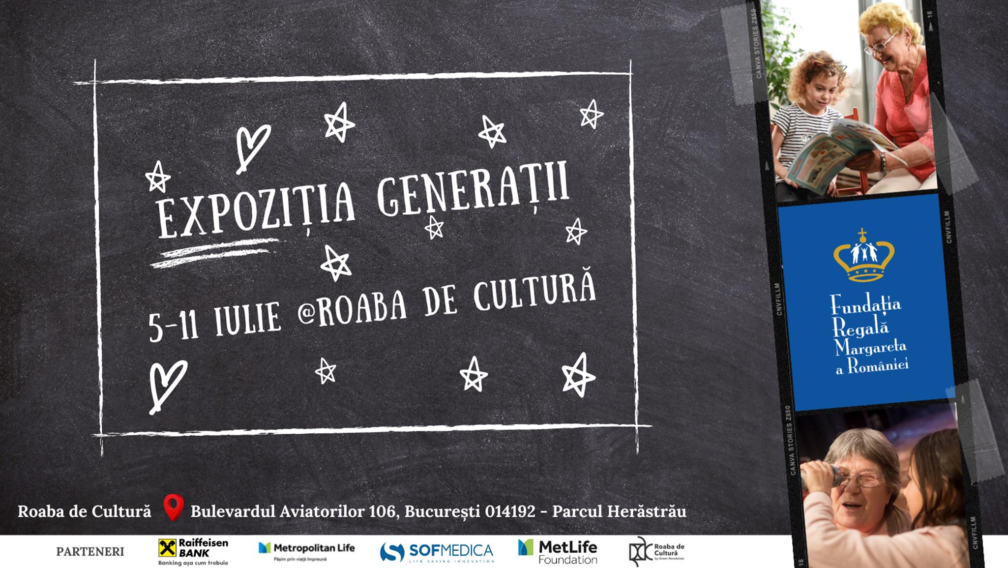 Expozițiile Generații – un periplu fotografic  al proiectelor intergeneraționale dezvoltate în 15 comunități din România