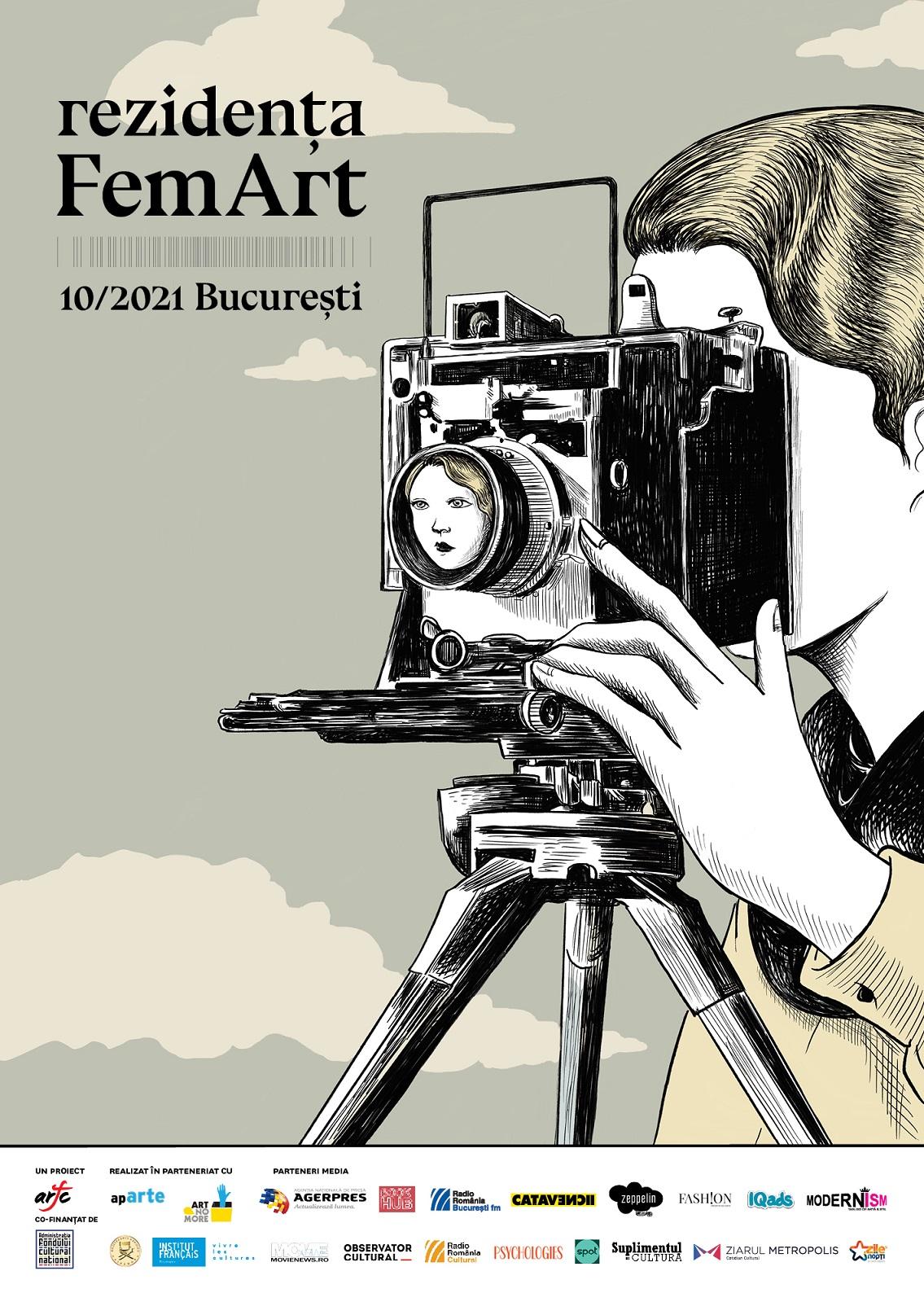 Continuă înscrierile la Concursul de proiecte Rezidența FemArt dedicat cineastelor