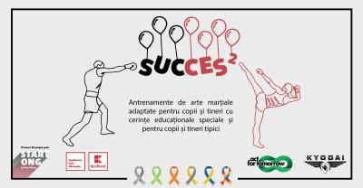 """Clubul Sportiv Kyodai a dat startul proiectului social """"Succes 2"""", a doua ediție dedicată copiilor cu nevoi speciale"""