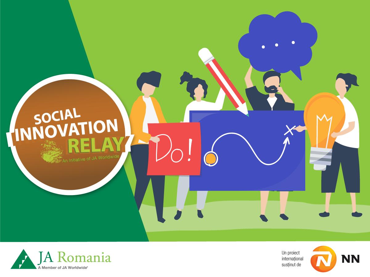 Peste 3.000 de liceeni din România au participat la proiectul internațional Social Innovation Relay în 2021