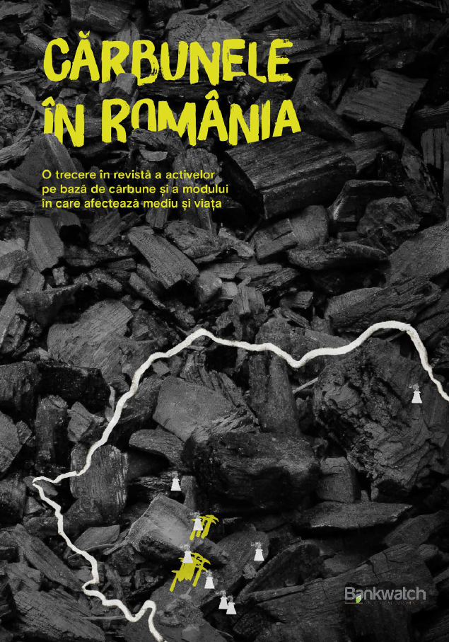 Harta interactivă a cărbunelui – unde, cât și până când vom mai arde cărbune în România?