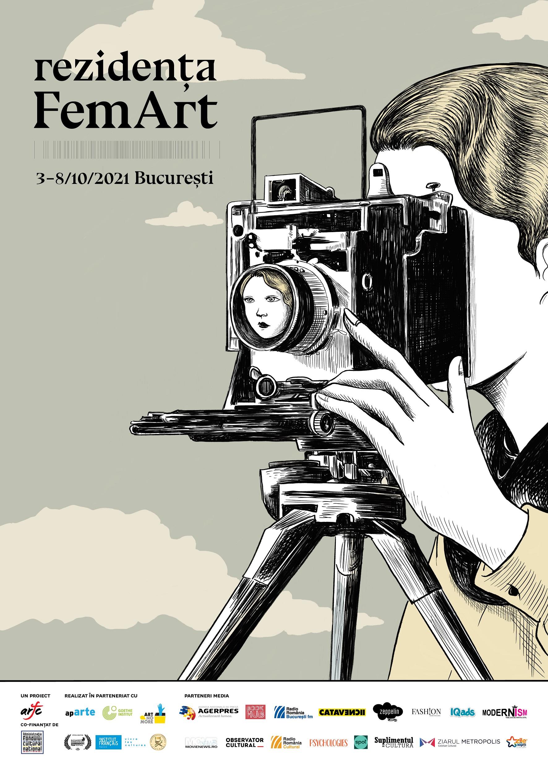 Cinci cineaste au fost selectate pentru participarea la Rezidența FemArt 2021