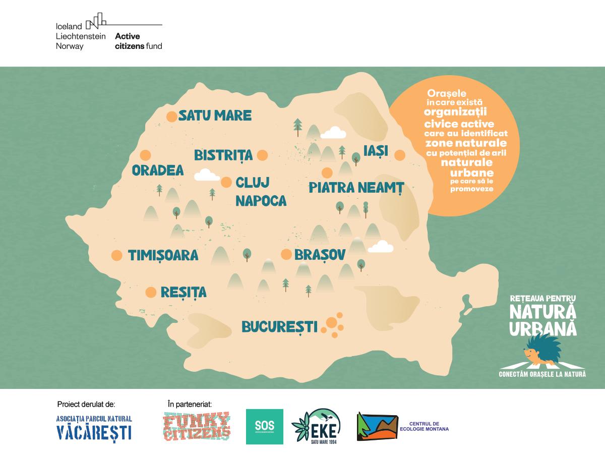 Lansarea Coaliției pentru Natură Urbană