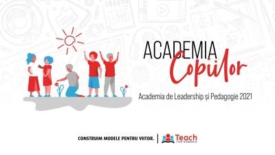 Peste 300 de copii participă la Academia Copiilor - școala de vară Teach for Romania dedicată elevilor și profesorilor din comunități dezavantajate