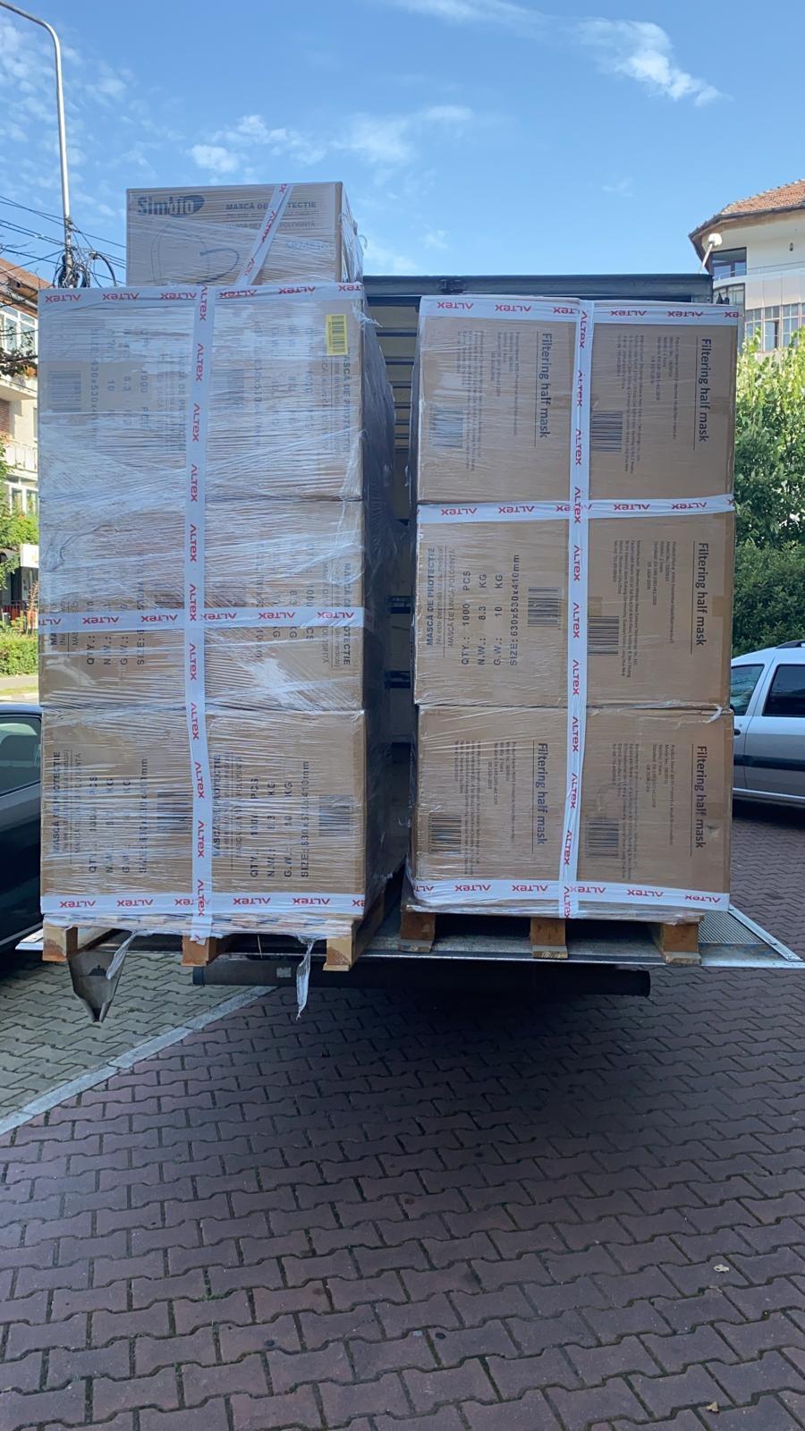 Opt milioane de euro, suma totală donată de Fundația Altex ȋn mai puțin de doi ani de pandemie