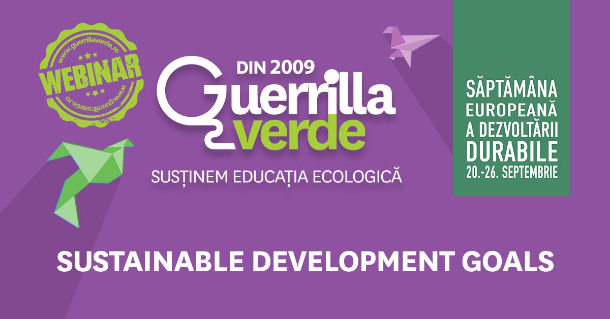 Guerrilla Verde: un an de la tranziția în online și 12 ani de prezență activă în educația de mediu din România