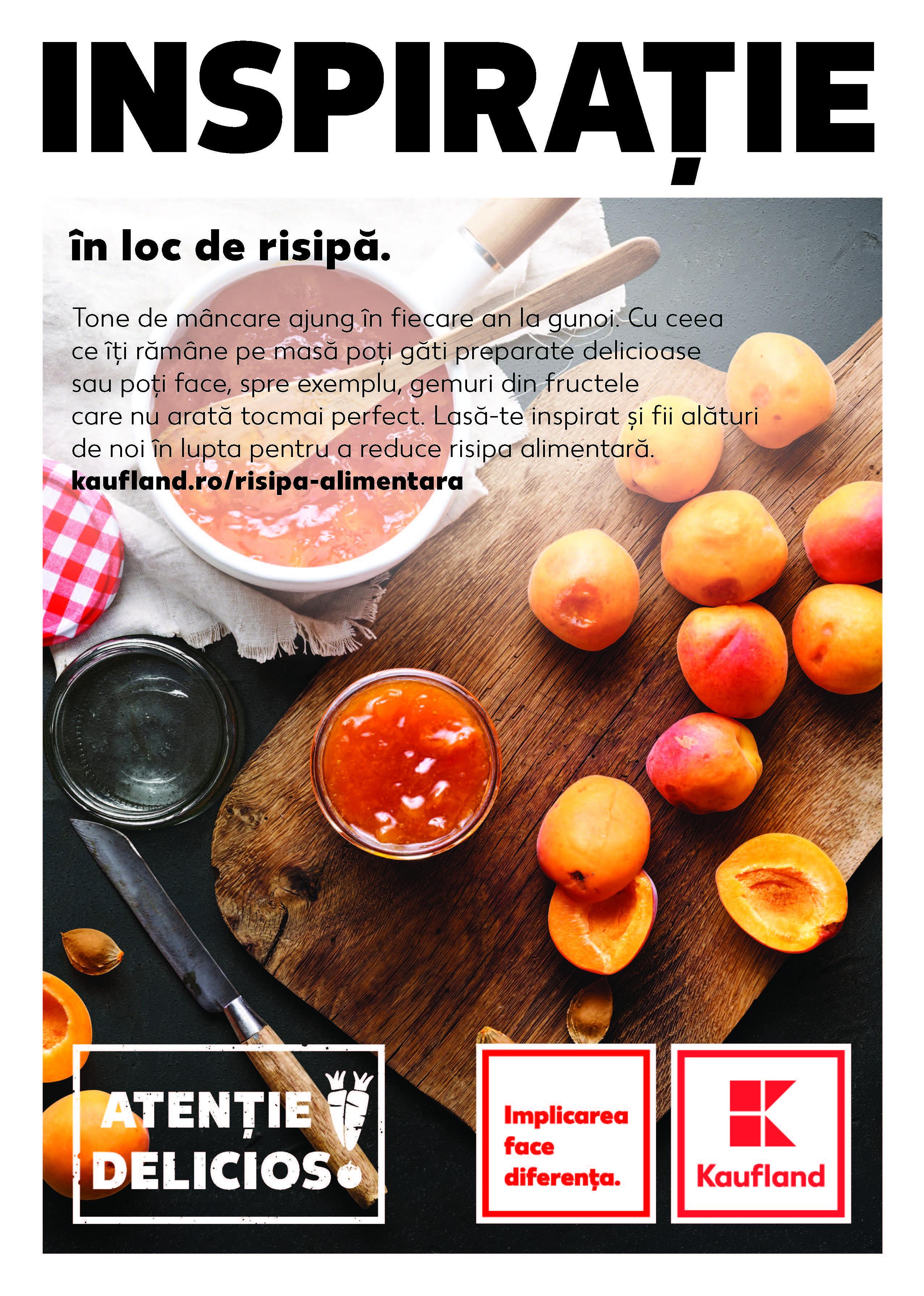 Kaufland România lansează prima campanie integrată anti-risipă alimentară