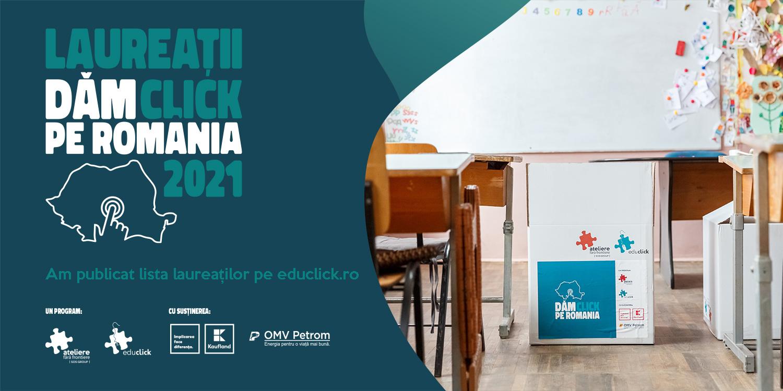 110 instituții educaționale vor beneficia de 2000 de calculatoare în noul an școlar prin proiectul Dăm Click pe România