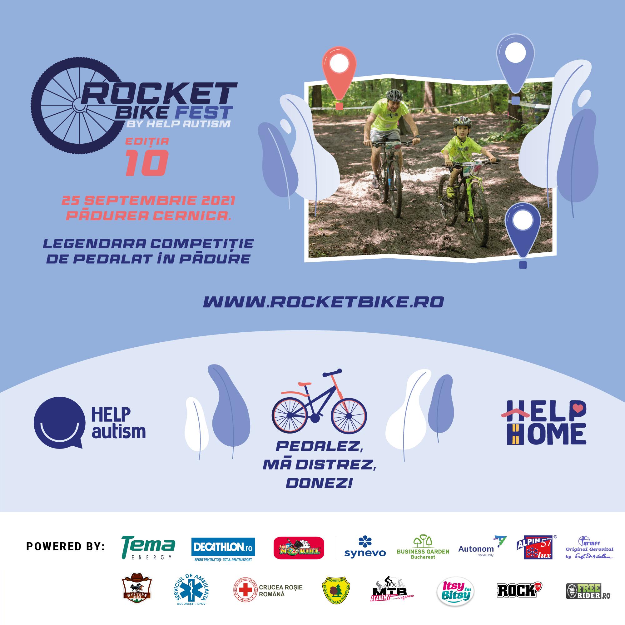 Pedalezi, te distrezi, donezi la Rocket Bike Fest ediția 10!