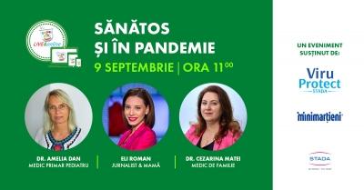 Asociația SAMAS te invită la conferința Sănătos și în pandemie