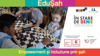 Șahul, mijloc de incluziune prin sport