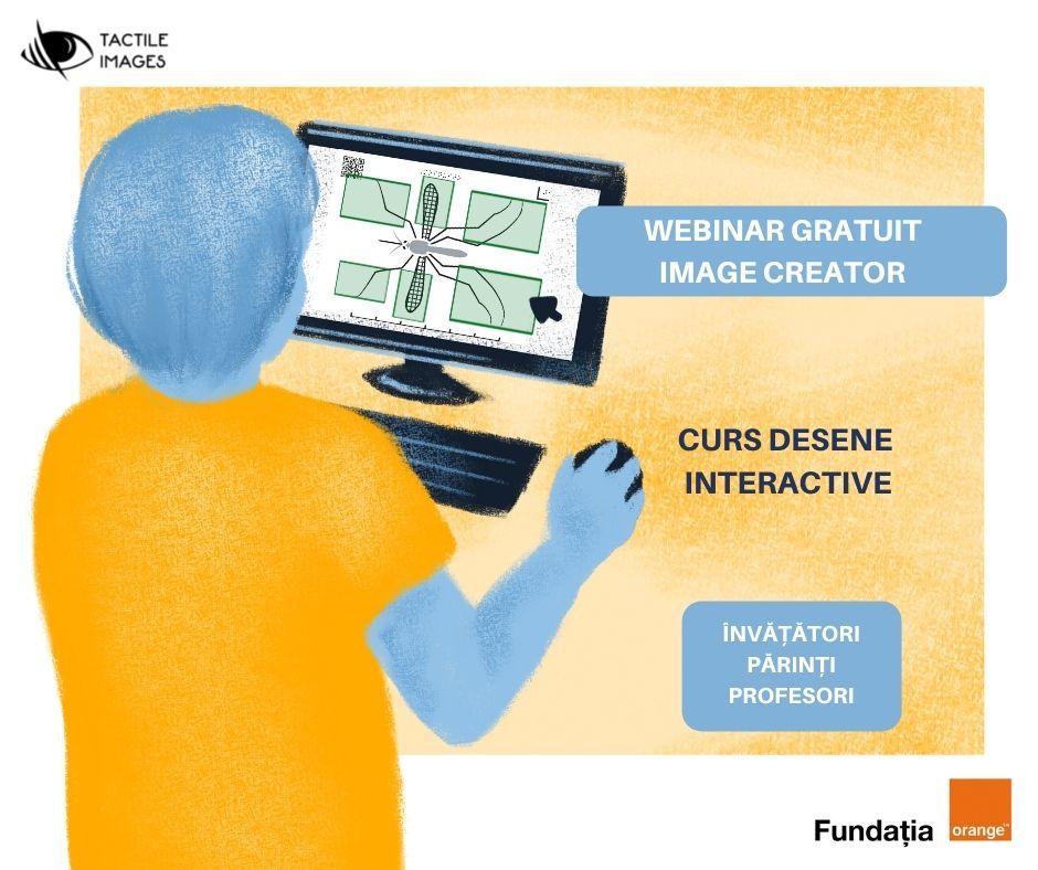 Creează desene interactive pentru copiii nevăzători! – webinar deschis publicului