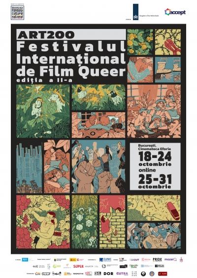 Începe ediția a doua a Festivalului Internațional de Film Queer ART200!