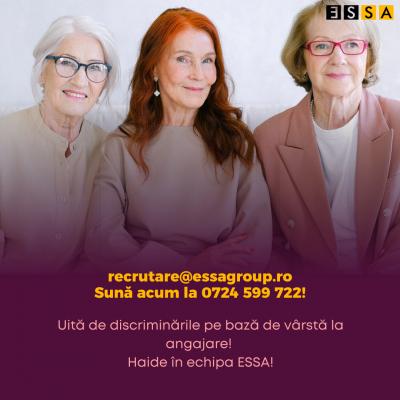 ESSA dă startul campaniei de integrare în muncă 45+