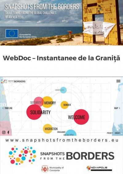 Lansarea instrumentului digital WebDoc – Instantanee de la Graniță