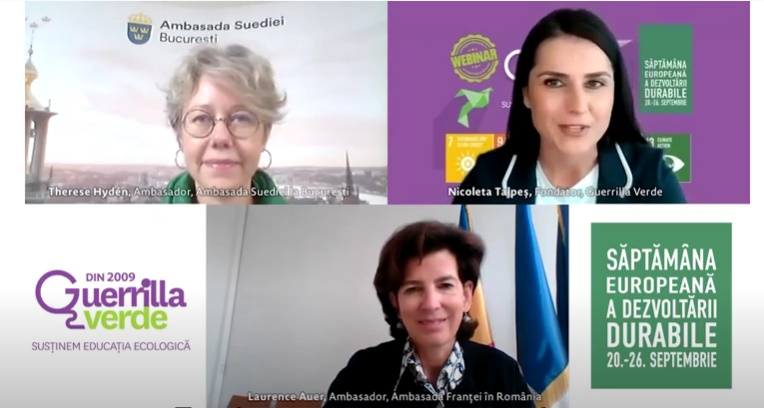 Suedia și Franța - despre Obiectivele de Dezvoltare Durabilă ale Agendei 2030